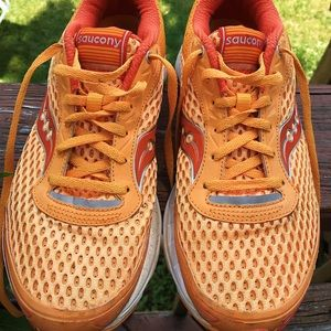 Lightweight Saucony running shoes